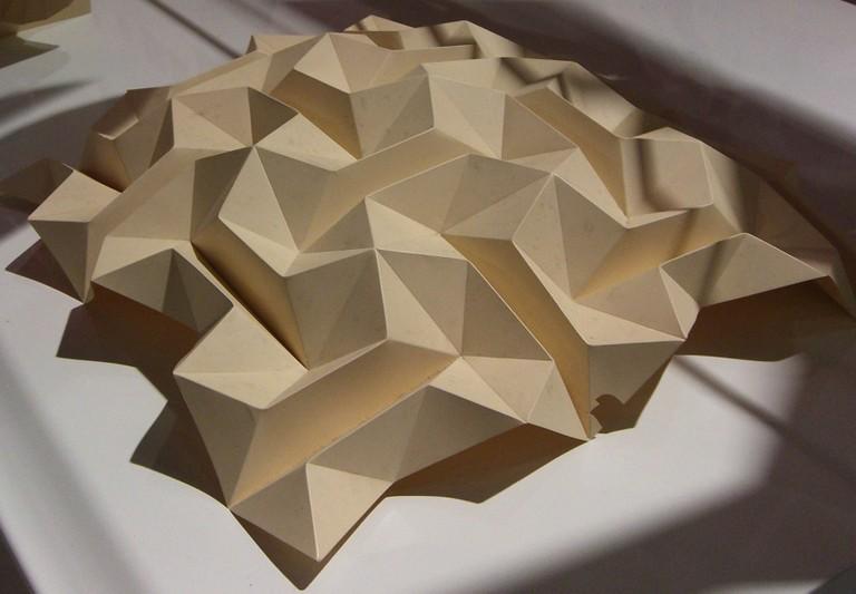 Ron Resch Paper Folding Origami Tessellation Arkinet