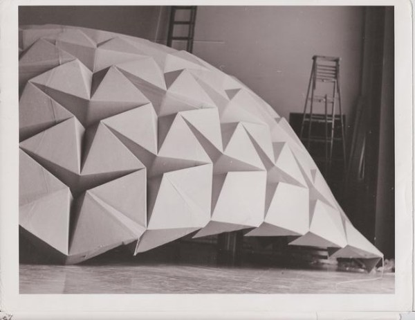 Geodesic Paper Dome