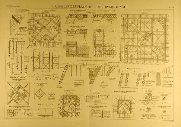 Blueprints of the eiffel tower arkinet in malvernweather Image collections
